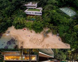 tri globo 300x239 - O TRIPLEX DA FAMÍLIA MARINHO: Mansão construída ilegalmente numa área de preservação ambiental - Por Flávio Lúcio
