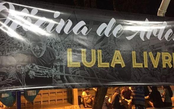 ufpb lula 2 - VEJA VÍDEOS: estudantes e professores fazem manifestações #lulalivre na UFPB e UEPB