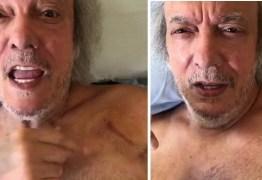 """Aos 76 anos, Erasmo Carlos coloca marca-passo e acalma fãs: """"Passam bem"""""""