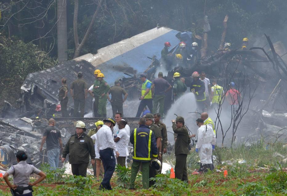 1526667358214 - Mais de cem pessoas morrem em queda de avião perto do aeroporto de Havana