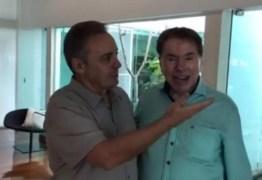 Gugu faz estátua de Silvio Santos para presentear ex-patrão