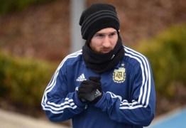 Messi descarta favoritismo da Argentina: 'Não somos os melhores'
