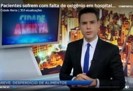 Pacientes sofrem com falta de oxigênio em hospitais devido à greve -VEJA VÍDEO