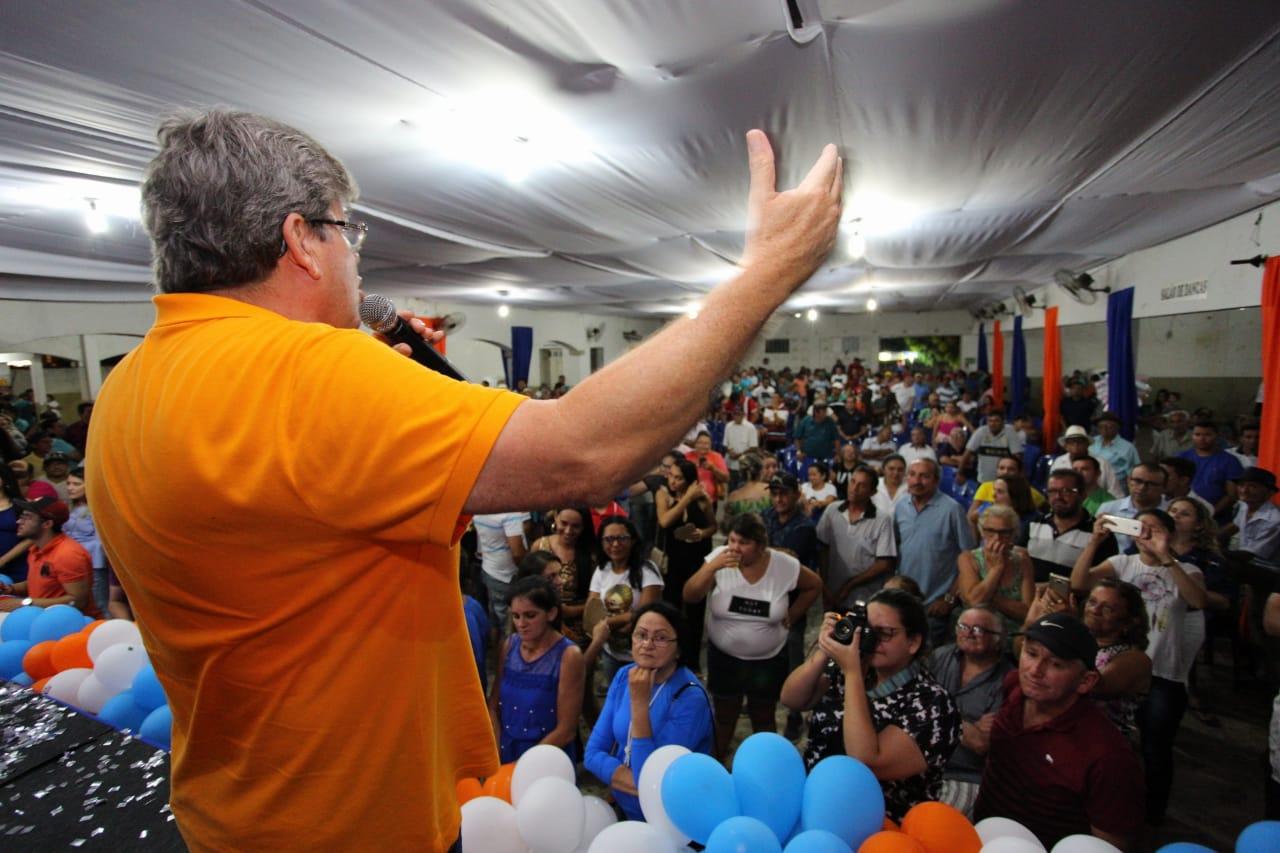 Encontro no Sertão João Azevêdo 1 - João Azevedo tem encontro com juventude e reúne lideranças de 10 cidades