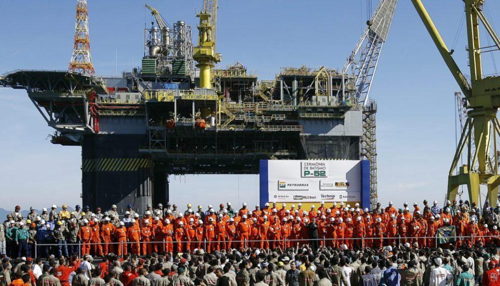Plataforma P 52 1024x563 1024x585 - Sindipetro confirma paralisação de petroleiros da Petrobras