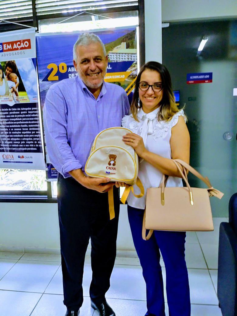 WhatsApp Image 2018 05 13 at 14.17.02 - Mães são lembradas diariamente em ações da Caixa de Assistência dos Advogados da Paraíba