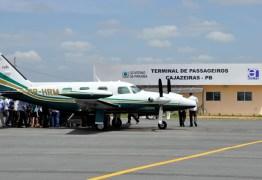 Aeroporto de Cajazeiras passa a receber pousos e decolagens à noite