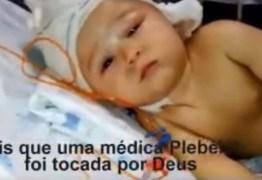SALVEM ARTHUR- Bebê com má formação no cérebro precisa de ajuda para manter tratamento -VEJA VÍDEO