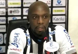 Pego no antidoping, Adalberto é suspenso e fica com futuro indefinido no Botafogo-PB