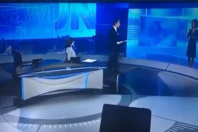 bonner maju - Bonner imita telespectador no JN: 'Tenha vergonha na cara seu político safado'; VEJA VÍDEO