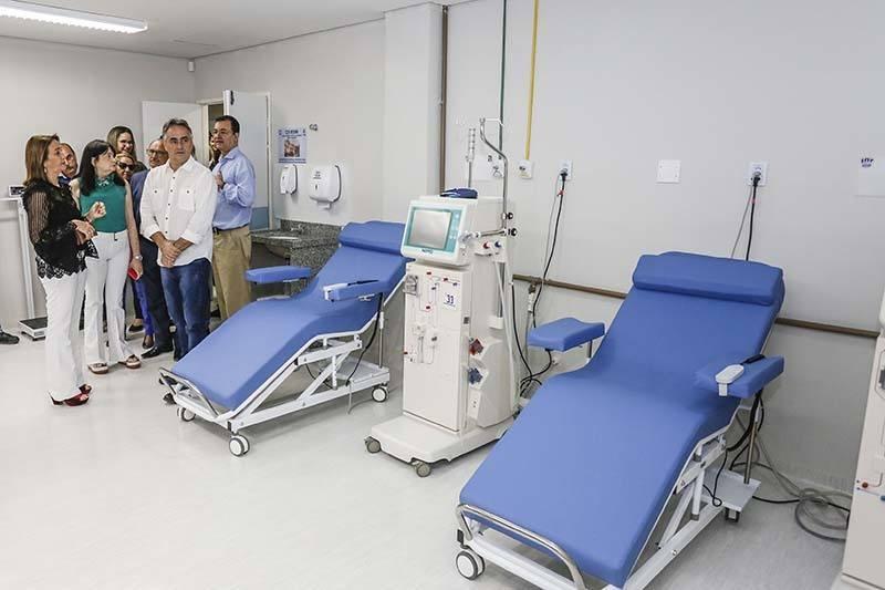 cartaxo hemodialise - Prefeitura de João Pessoa entrega novo Centro de Hemodiálise e amplia atendimento