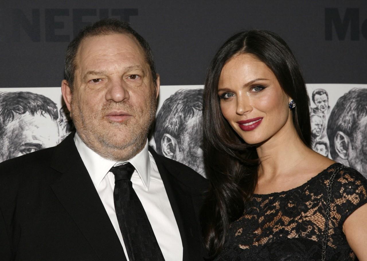 harvey weinstein fran - 'FUI MUITO INGÊNUA': Georgina Chapman, esposa de Harvey Weinstein, diz que nunca suspeitou do marido