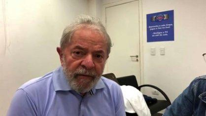 lula preso 1 418x235 - Lei 7.474/86: Lula tem direitos de ex-presidente restabelecidos