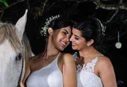 Bailarina do Faustão posta fotos da lua de mel com a esposa, veja