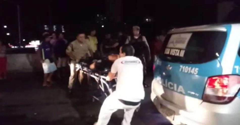 pm - Encurralados, PMs morrem atropelados por metrô no Recife