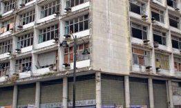 Cerca de 148 famílias moram em prédios abandonados na Capital