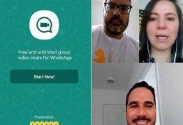 Whatsapp começa a liberar chamada de vídeo em grupos