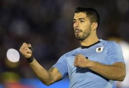 Uruguai encara Egito no jogo desta sexta-feira da Copa do Mundo