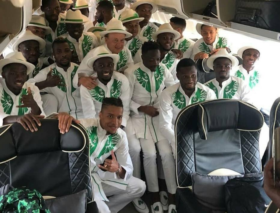 1528741537881 - Visual da Nigéria para a Copa repercute na web