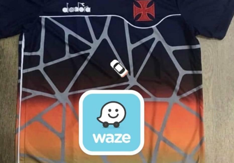 Suposta nova camisa do Vasco vira piada nas redes sociais