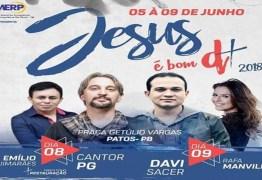 Patos sedia 15ª edição do Jesus é Bom Demais