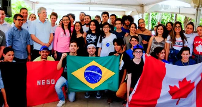 RICARDO COUTINHO GIRA MUNDO - VEJA A LISTA: Governador Ricardo Coutinho divulga nomes dos estudantes selecionados para o Gira Mundo 2018 - OUÇA