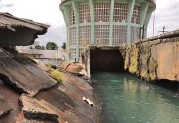 URGENTE – Reservatório de água da Cagepa na Diogo Velho rompe: VEJA VÍDEO