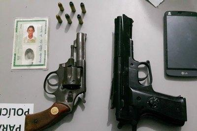 armas campina grande 13.06 - Bandidos roubam carro e ligam para o proprietário exigindo dinheiro para devolver veículo