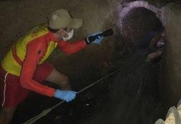Na Paraíba, idoso morre sugado por esgoto quando tentava desobstruir galeria