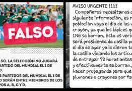 PERIGO NO WHATSAPP: Eleições mexicanas são tomadas por notícias falsas