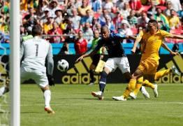 Por 2 x 1, França vence Austrália neste sábado