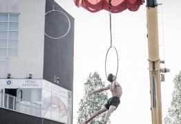VEJA VÍDEO: Acrobata Paulista morre ao dar salto de 15 metros