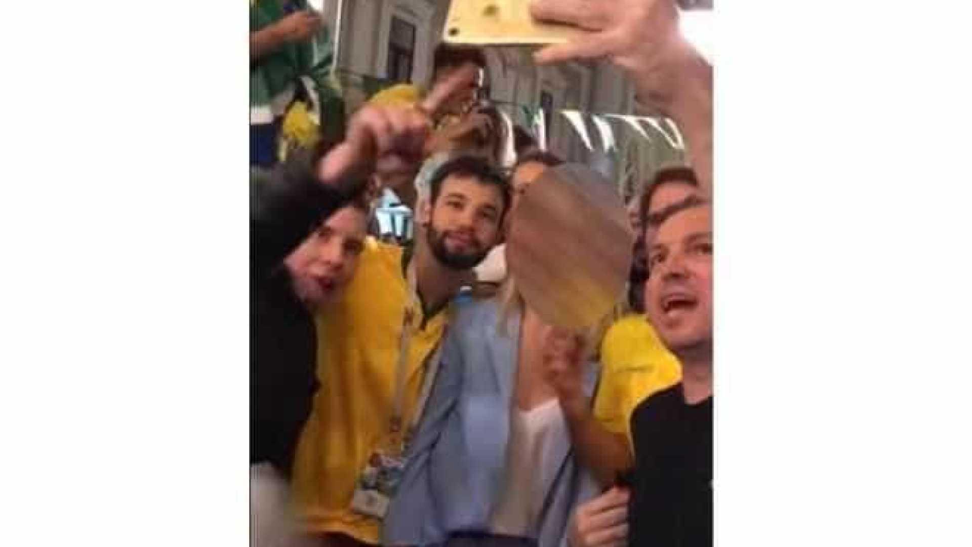 'Estão acabando com a vida da gente' diz um dos Brasileiros que assediou mulher na Rússia