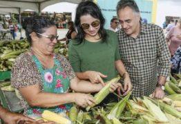 Luciano Cartaxo participa da abertura do III Festival do Milho da Central de Comercialização da Agricultura