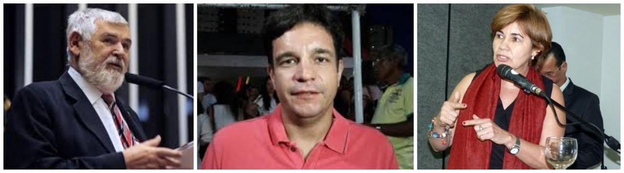 senadores pt - OS SENADORES DO PT: Partido embarca em candidatura de João Azevedo e tem opções para o senado