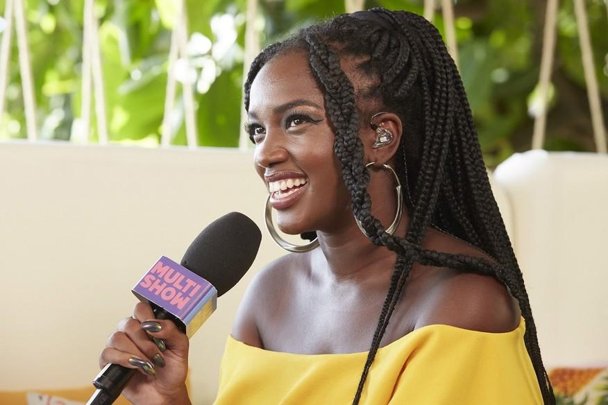 veraopesadao5gc - Cantora Iza estreia como apresentadora e avalia representatividade negra