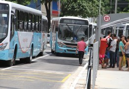 Frota de ônibus é reduzida em João Pessoa durante jogo da seleção