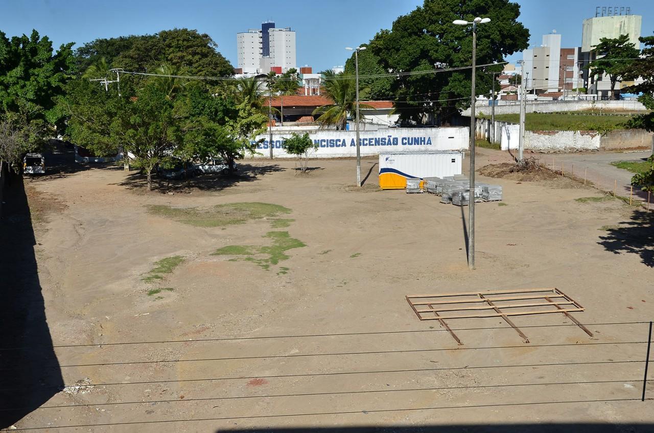 16 07 18 TerrenoPçaInclusivaBancários fotoGFirmino 16 - João Pessoa terá primeira praça 100%  inclusiva da Paraíba