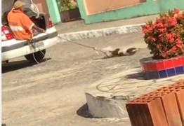 Prefeitura de Duas Estradas emite nota sobre vídeo de homem arrastando cão com corda