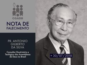 38260530 2204187172942433 3681095256834572288 n 300x225 - Morre o pastor e jornalista Antonio Gilberto, consultor doutrinário das Assembleias de Deus no Brasil