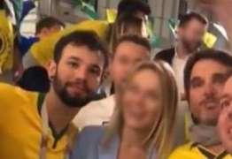 Governo russo inicia investigação de brasileiros que assediaram torcedora em Moscou