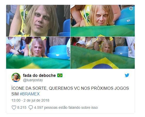 Capturara - CONHEÇA YURY TORSKY: Torcedor misterioso que virou meme no Brasil é jovem russo