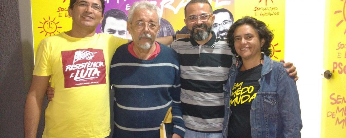 PSOL - É HOJE: PSOL abre convenções e homologa Tárcio ao governo da Paraíba