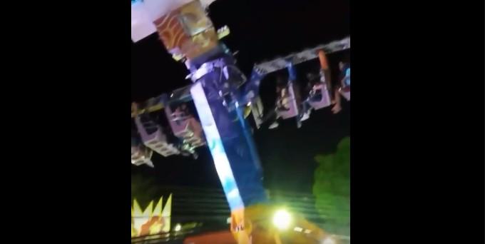 Sem título 10 - Dezessete pessoas ficam presas em brinquedo de parque de diversões na Paraíba - VEJA VÍDEO