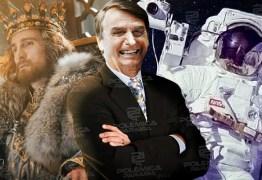 A COMÉDIA DOS VICES: Bolsonaro apela para astronauta ou príncipe – Por Bernardo Mello Franco