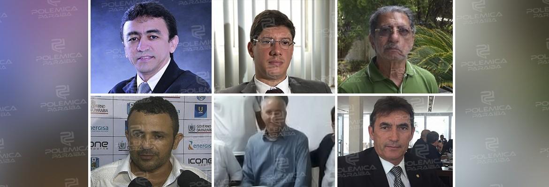 candidatos fpf - SEIS NA DISPUTA: FPF terá representantes de clubes, aliados de Rosilene e avulsos na disputa à Presidência