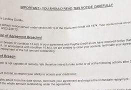 Empresa manda carta a cliente dizendo que sua morte violava o contrato