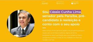 cassio arrecadação 300x137 - Cássio lança vaquinha virtual para bancar campanha à reeleição; saiba quem foi o primeiro doador