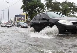 Defesa Civil alerta para possibilidade de fortes chuvas nesta terça-feira, em João Pessoa