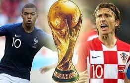 França e Croácia disputam decisão da Copa do Mundo 2018